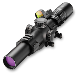 a variable power optic like the Burris XTR II 1.5-8 scope (with piggybacked FastFire red dot) offers a lot of capability in a single package.