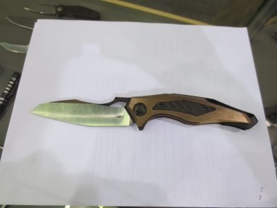 What are your thoughts? Do you like this futuristic looking knife?