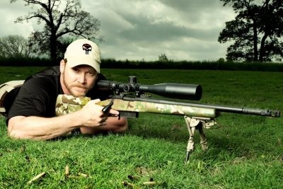 Chris Kyle. The legendary war hero was tragically shot and killed, along with his friend Chad Littlefield, by Eddie Ray Routh at the Rough Creek Ranch-Lodge-Resort shooting range in Erath County, Texas, on Feb. 2, 2013. (Photo: The Intercept)