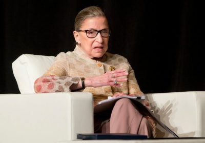 Justice Ruth Bader Ginsburg of the Supreme Court in May. (Photo: AP/Mike Groll)