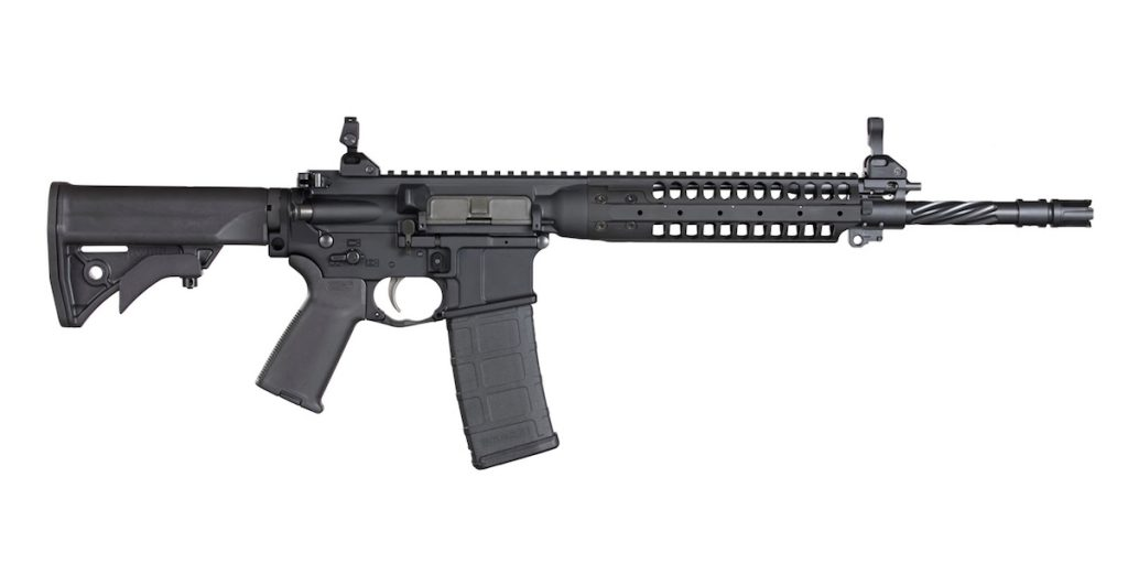 The IC-PDW shares many characteristics with its LWRC siblings, such as the IC-A5 Individual Carbine shown here. Image courtesy of LWRC International.
