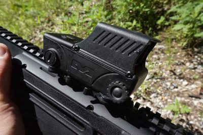 The Mepro RDS Pro is one of the finest examples of a red dot sight I've ever used. The glass is crystal clear and the dot is clean and precise.
