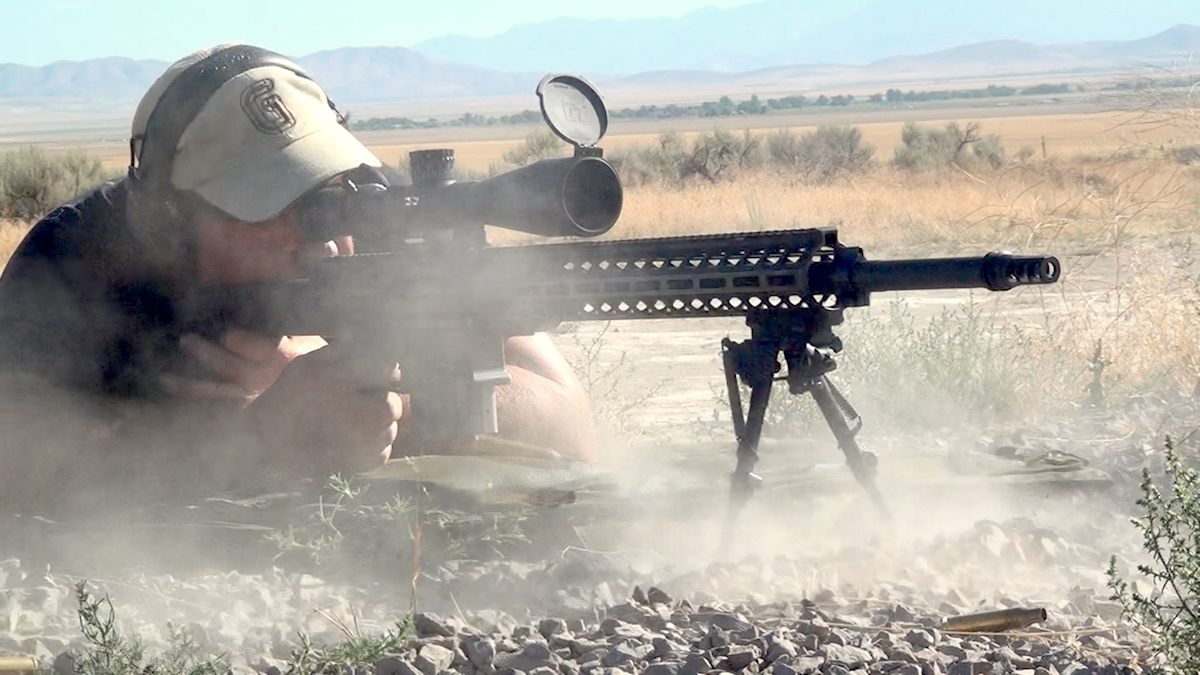 The DRD Tactical Kivaari is a fully capable semi-auto .388 Lapua Magnum that also is a takedown model.
