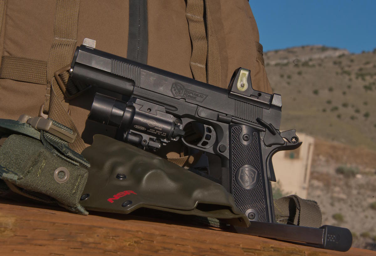 A 100-Yard 1911: Republic Forge Longslide 10mm—Full Test