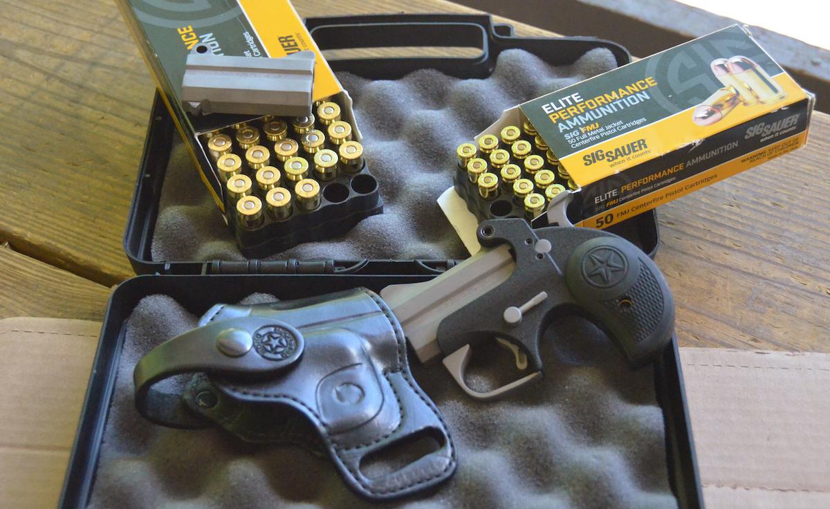 21st century derringer bond arms back up 45 acp 9mm defender