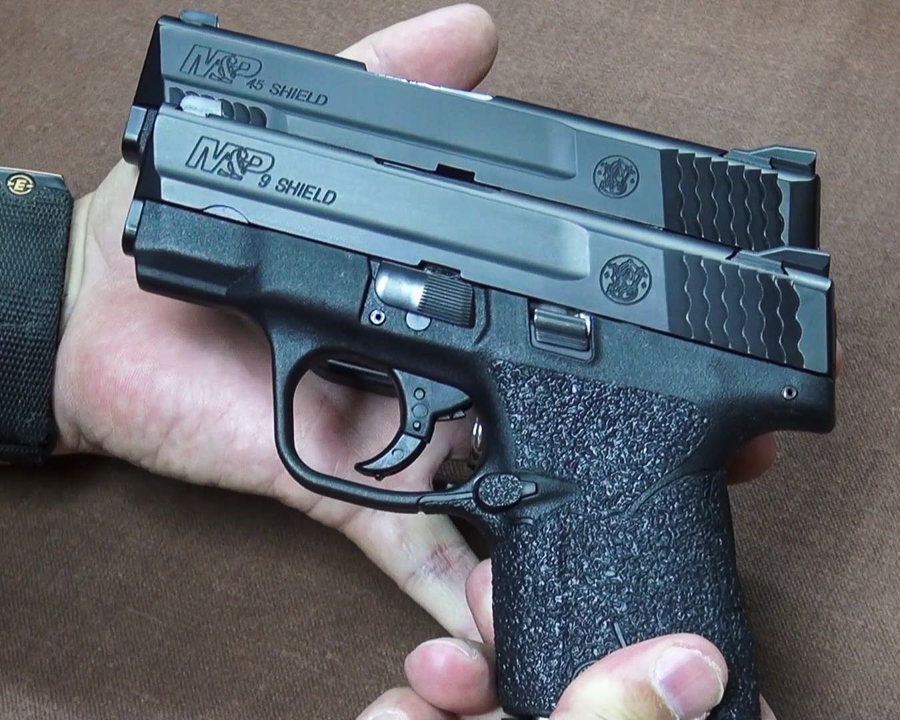 Big Bore Ccw New Smith Wesson M P 45 Acp Shield Full Review