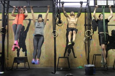 A CrossFit class in Los Angeles. (Lawrence K. Ho/Los Angeles Times)
