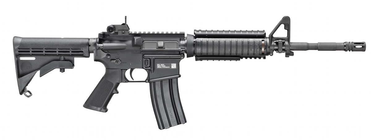 The FN Military Collector Series M4 Carbine delivers the closest thing a civilian can own to the true military M4 Carbine. Image courtesy of FN.