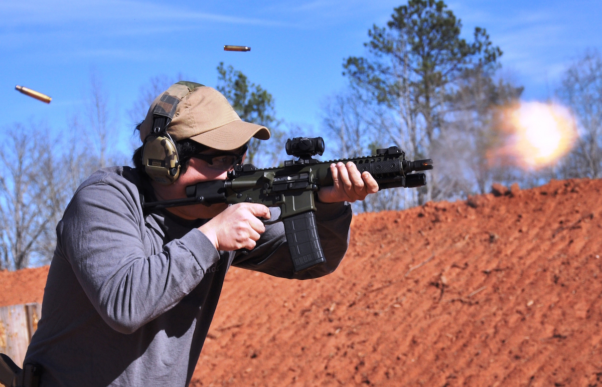 The LWRC IC-PDW is a special run weapon system developed as part of a military contract request. It is part of the IC family of AR-based firearms.