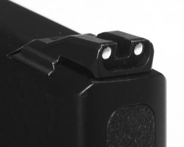 The .45 carries the same popular sights that are very effective.