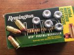 Ammo Test: Remington's Affordable HTP 185-grain Self-Defense .45 ACP Load