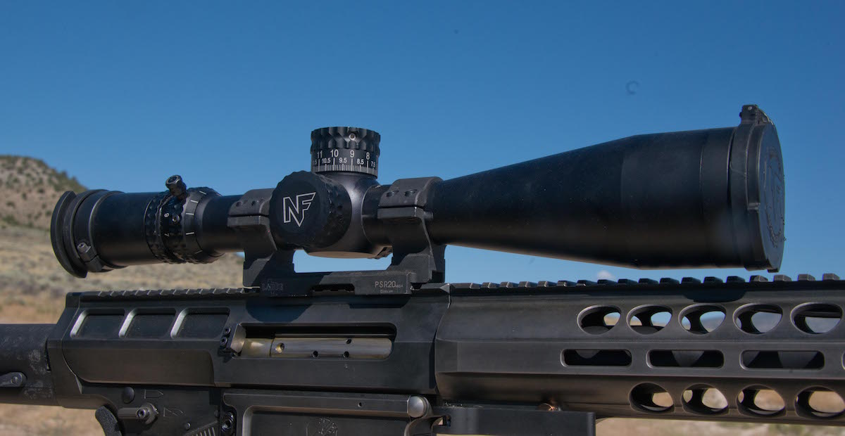 The author equipped the Kivaari with a Nightforce ATACR 5-25 x 56mm F1 first-focal-place scope.