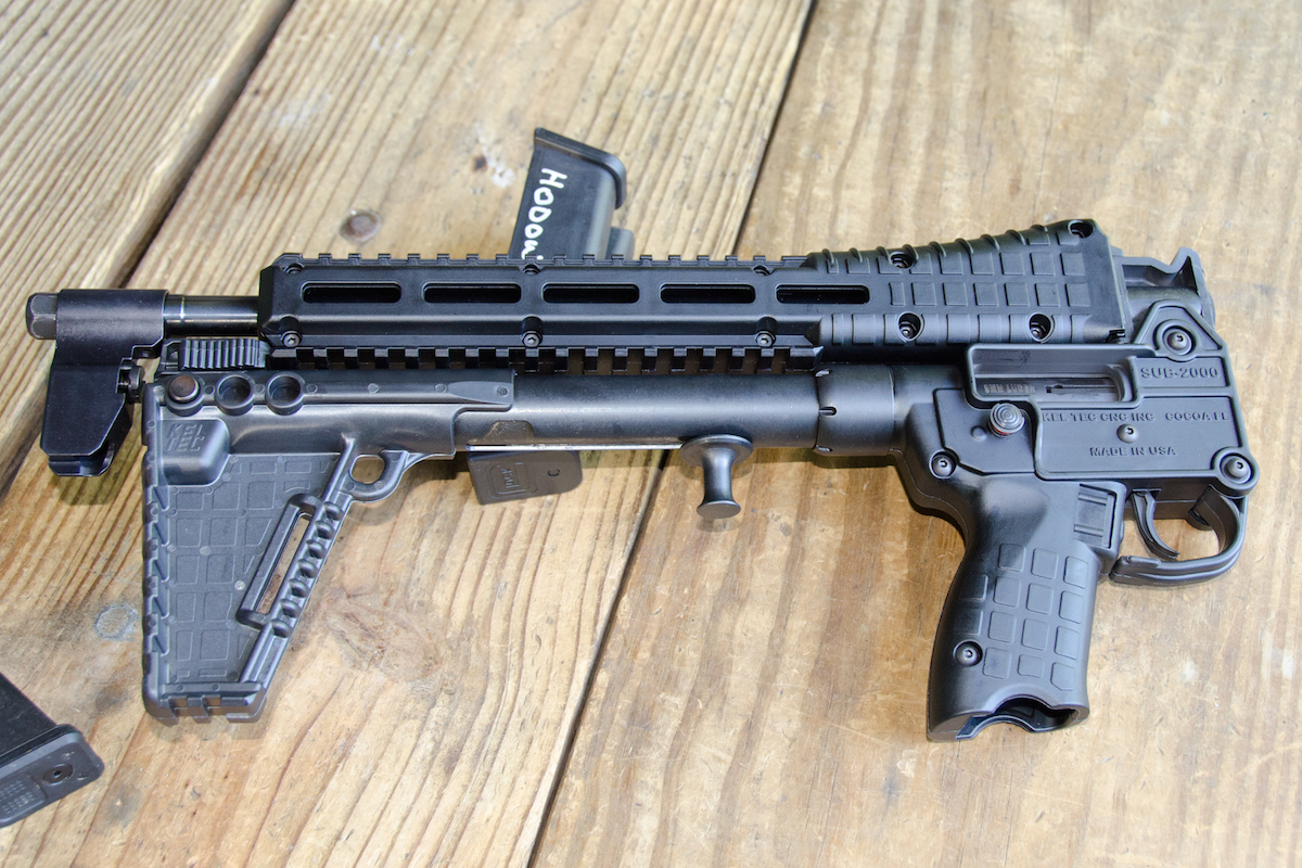Folding 9mm Carbine—Kel-Tec's New SUB-2000 Gen II 9mm