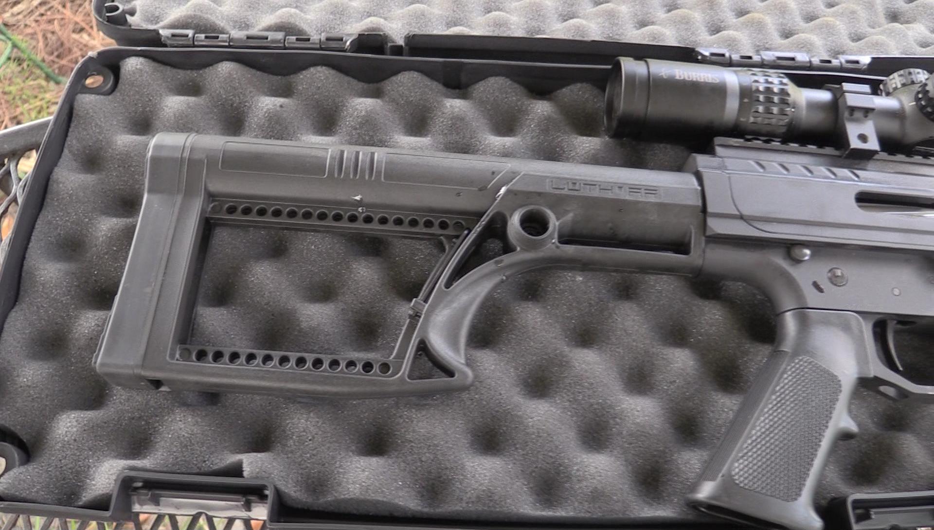 Long Range Assassin is  30-06 Semi-Auto AR-15 - Noreen BN36