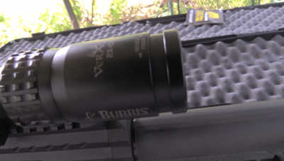 As I explained in the video, I used a Burris Veracity 2-10x First Focal Plane scope for this range session. If you haven't tried an FFP scope you really should. They make long range shooting much easier, and this rifle lives and breaths long range shooting, so it was a good match.