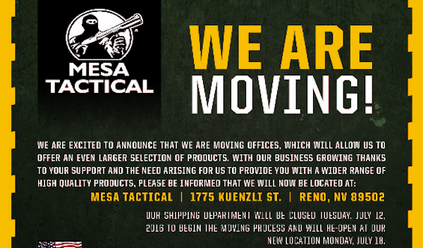 Photo: Mesa Tactical