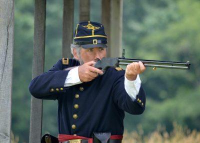 The Henry was a revolutionary arm that offered a lot of firepower on Civil War-era battlefields.