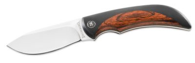 The Browning Featherweight Fixed Semi-Skinner is a high-quality fixed-blade hunting knife with a drop point blade.