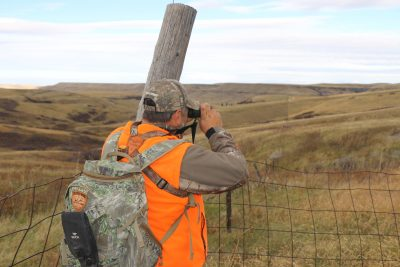 In open country or Western terrain, where glassing with binoculars and even larger spotting scopes is as critical as stalking to find game, a good pack is a must for carrying all of your hunting items.