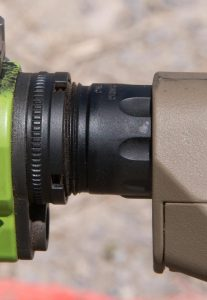 Primary Weapons Systems Gen 2 enhanced buffer tubes were fitted on the rifles.