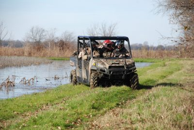 Getting the lay of the land is a good means to help ensure a successful hunt.