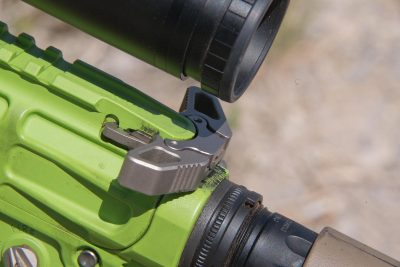 The Grunt rifles were also equipped with AXTS Raptor charging handles.