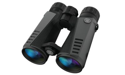 the Sig Optics Zulu7 10x24mm roof prism binocular is light, yet capable.