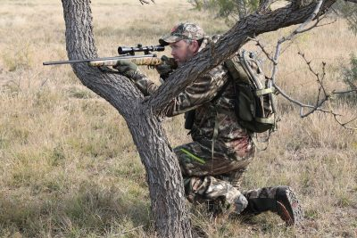 A pack allows you to keep your hands free of gear and your pockets free from bulky objects that can hinder movement should you need to react quickly for a shot.