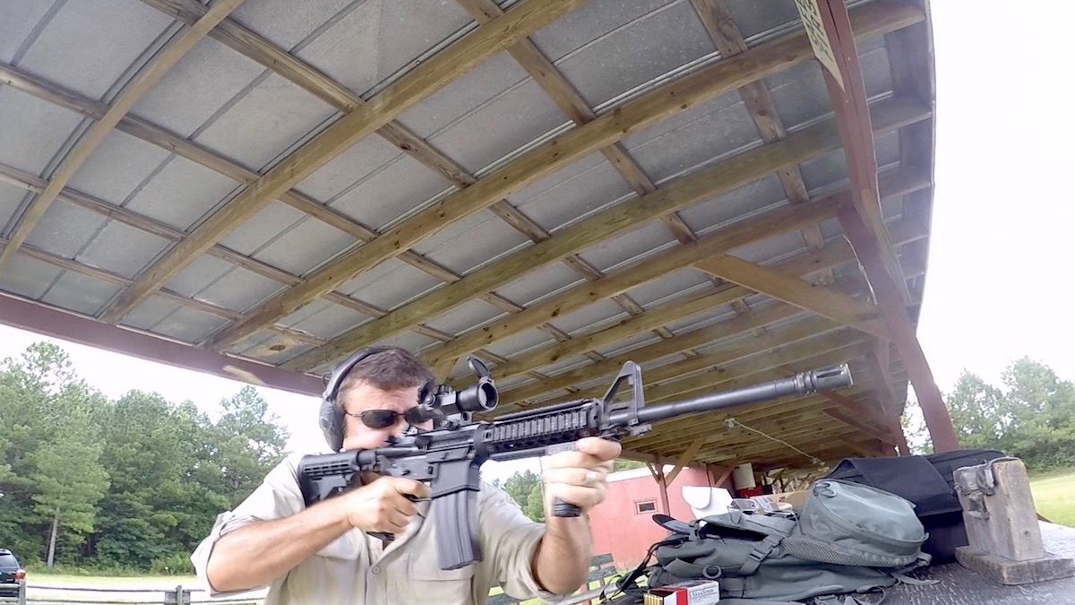 The author put the BFS through its paces on the range, and it ran without a hitch.