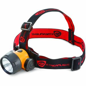The Streamlight Trident Headlamp allows for hand-free access to a light while still working with your hands.