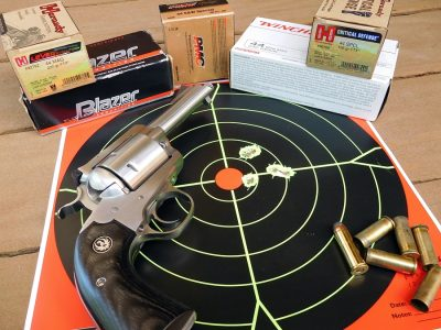 The range review was carried out with popular and readily available brands of ammo in both .44 special as well as .44 Remington Magnum.