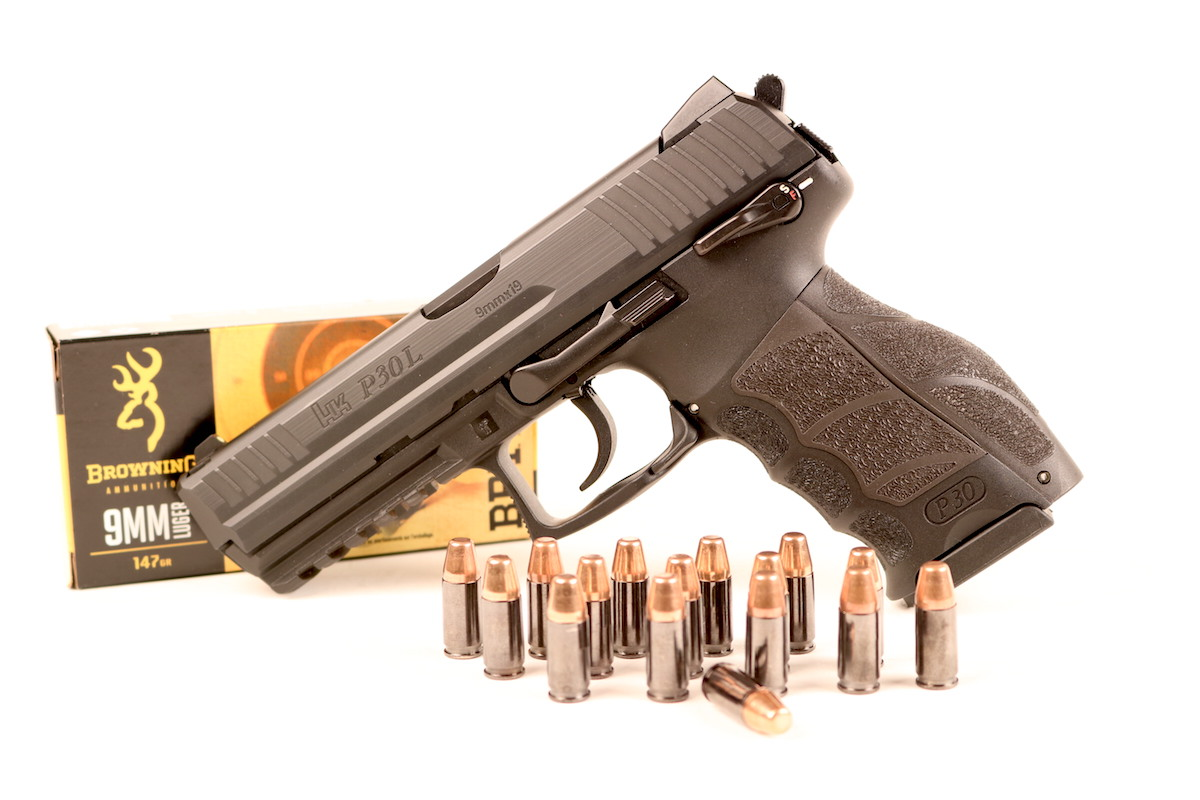 The HK P30L is the elongated version of their standard P30, itself an evolutionary development of the USP.