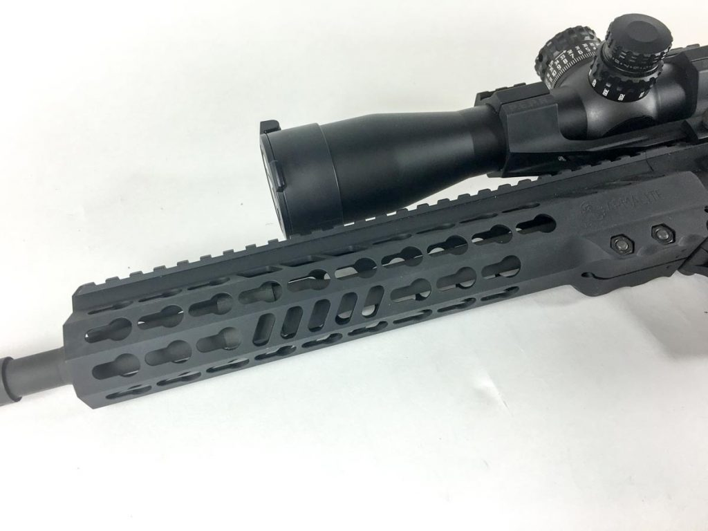 For accuracy testing, I mounted this Burris XTR II 2-10x42 scope.