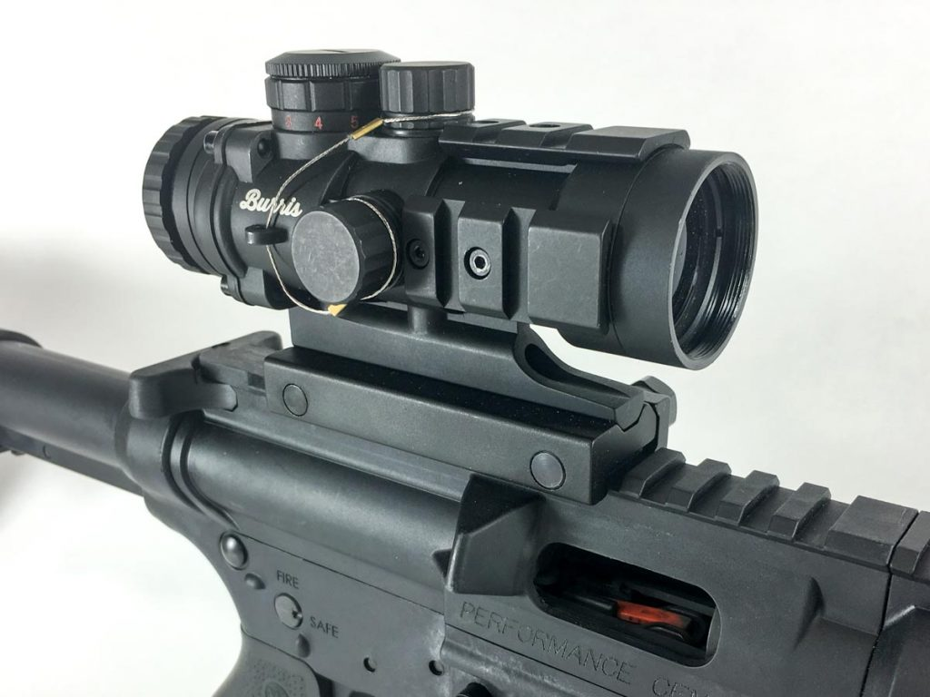 A low-power optic also makes a great fit for rimfire-caliber AR rifles.