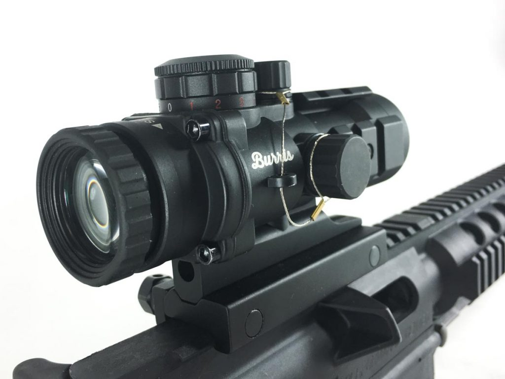 A low-magnification optic like this 3x Burris AR-332 will take you a surprisingly long way.