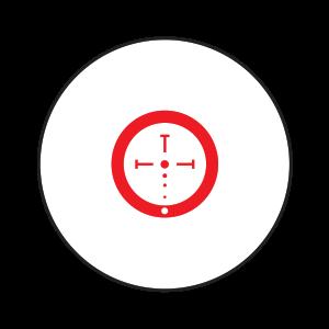 The Burris Ballistic CQ Reticle