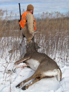 While tough to endure for the hunter, extreme cold weather can kick deer movement into overdrive, opening the door to late-season success.