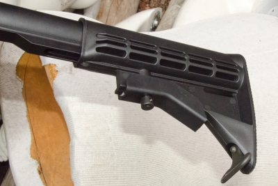 A four-position collapsible stock rounds out the package of the Colt Expanse.