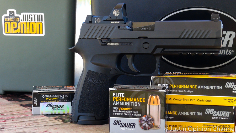 SIG Sauer is quickly becoming the soup-to-nuts manufacturer. Everything you need under one roof.