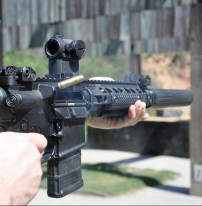 The AAC MPW is designed from the ground up to function as a suppressed firearm.