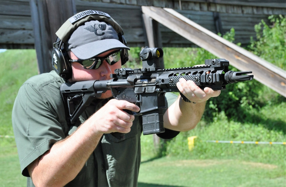 The AAC MPW is offered in either SBR variants shown) or with a 16-inch barrel.