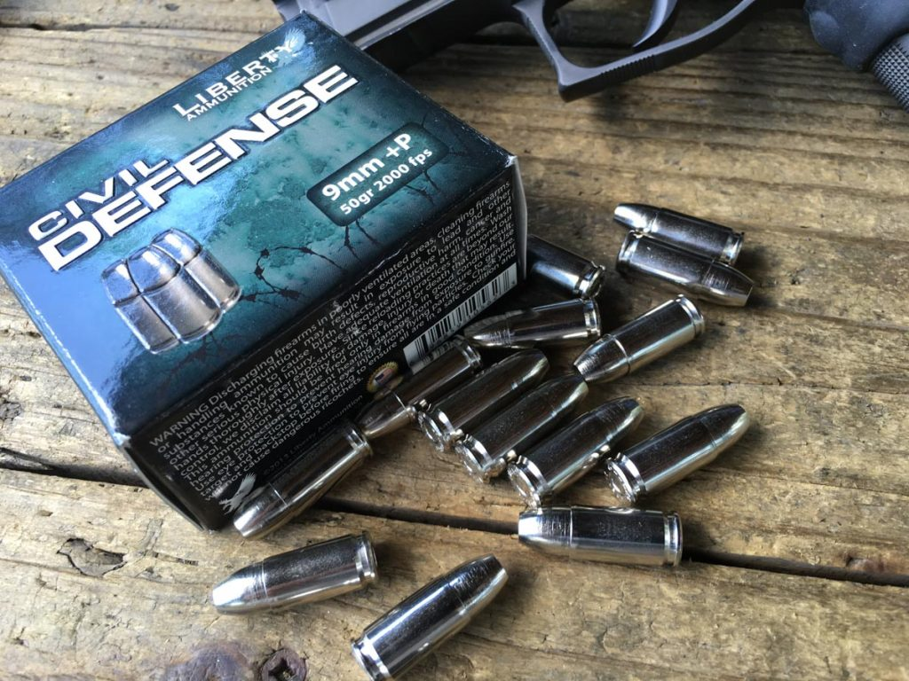 Liberty Ammunition's Civil Defense 9mm