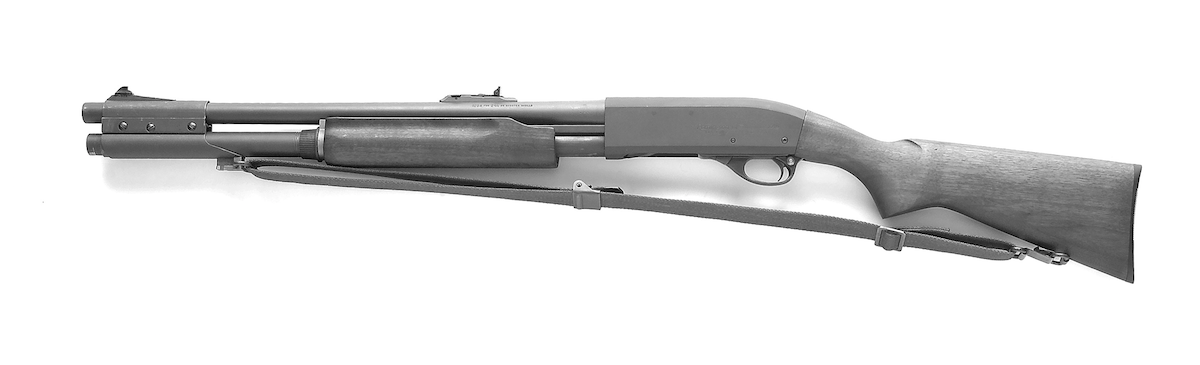 The United States Marine Corps adopted the Mark 1 variant of the tried-and-true Model 870 Remington.