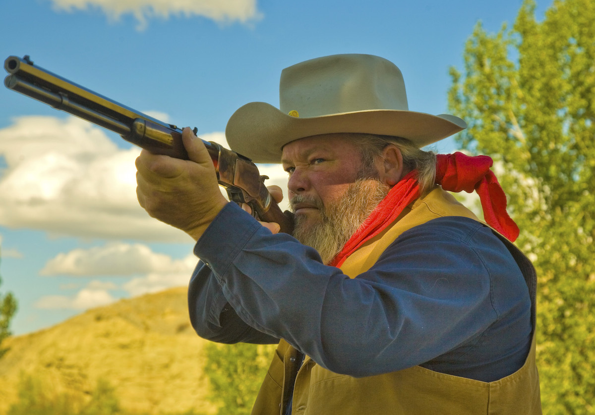 The 1873 is a classic design, pioneered by Winchester at its birth and offered as a high-quality reproduction today by Uberti.