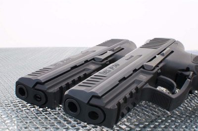 The P30L (right) is an elongated version of the standard P30 (left). Image courtesy of manufacturer.