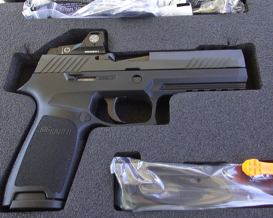 The P320RX is literally range-ready out of the box.