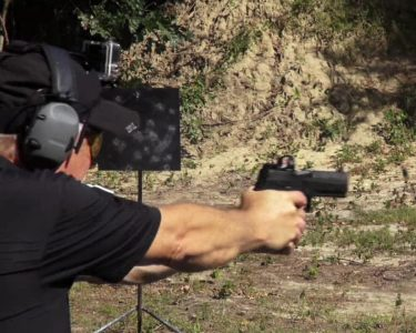 The P320RX shone on the range, with lightning-fast target acquisition.