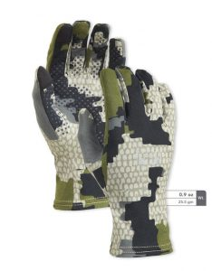 Kuiu Peleton 130 liner gloves offer a lot of protection for your hands in the cold.