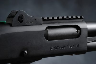 The heart of the 870 design is the robust ordnance-grade steel receiver.