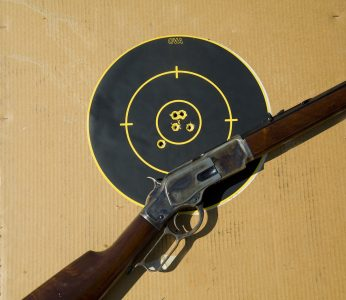 The 1873 is no tackdriver, but within the context of the design and its cartridge can be a quite capable performer.